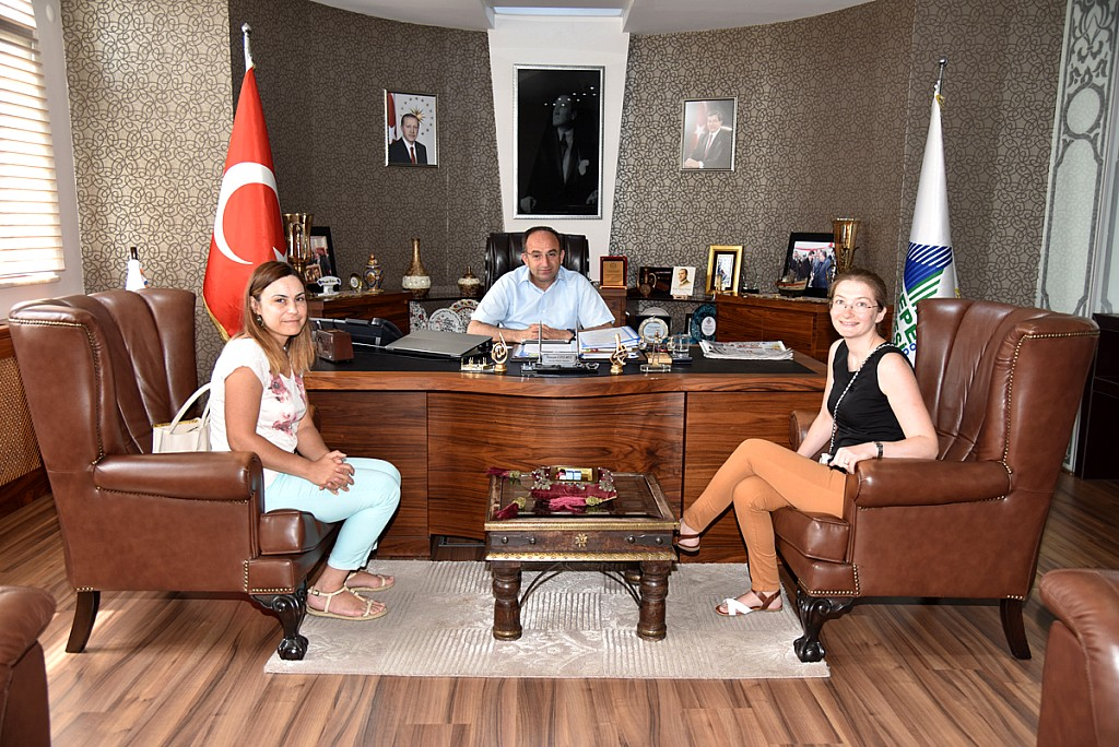 Arslanbey ASM doktorlarının  ziyareti